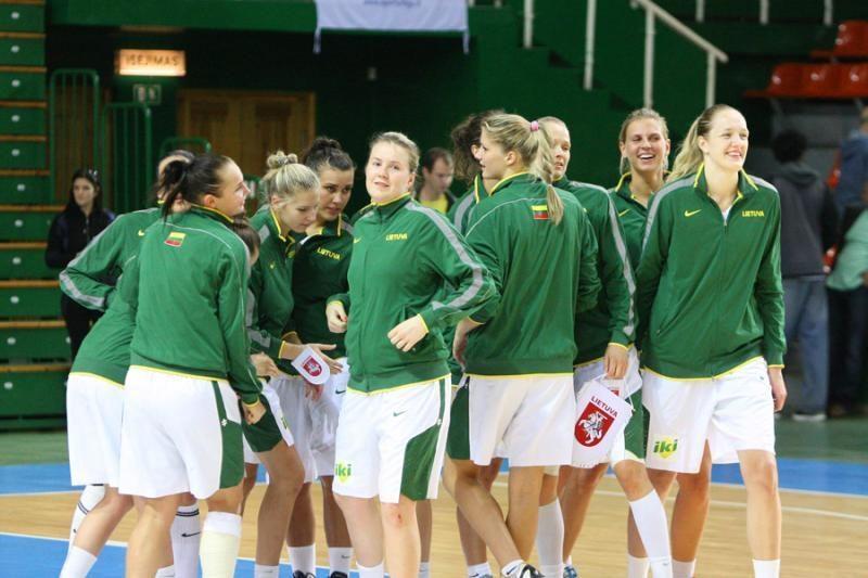 Lietuvos moterų rinktinė neteko gynėjos