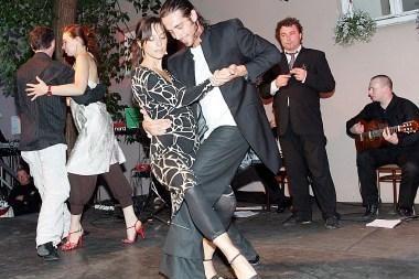 Vilniuje - trijų dienų tango fiesta (programa)