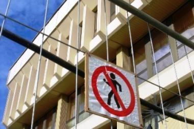 Seimo kanceliarija planuoja pagrindinių rūmų remontą