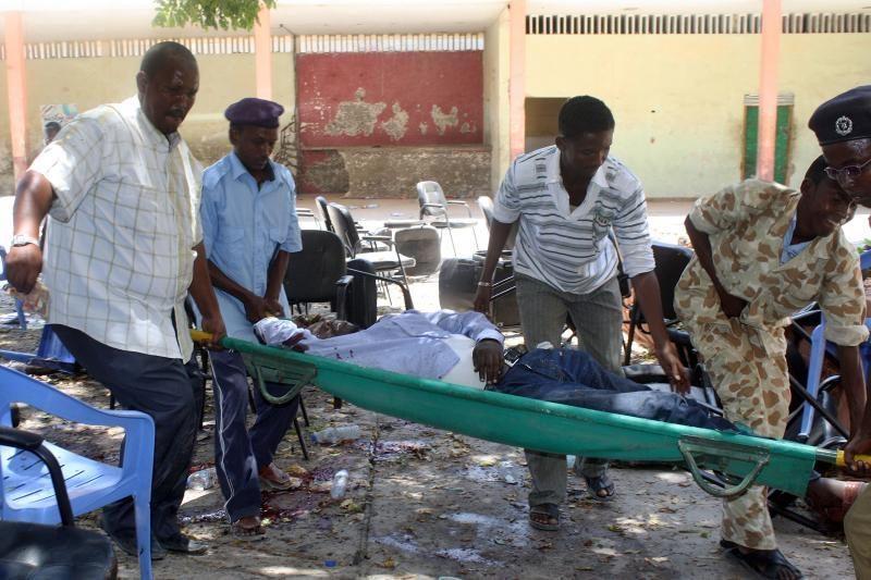 Per sprogimą Somalyje žuvo mažiausiai 10 žmonių