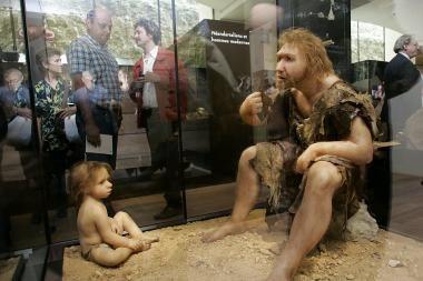 Neandertaliečiai galėjo būti protingi