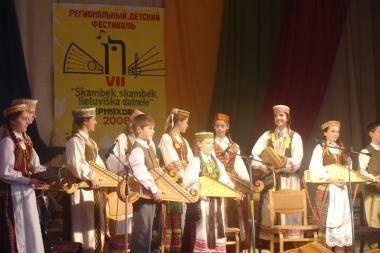 Kaliningrado srityje - lietuvių vaikų dainų šventė