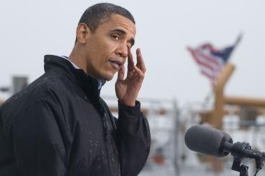 B.Obama pareiškė užuojautą dėl A.M.Brazausko mirties