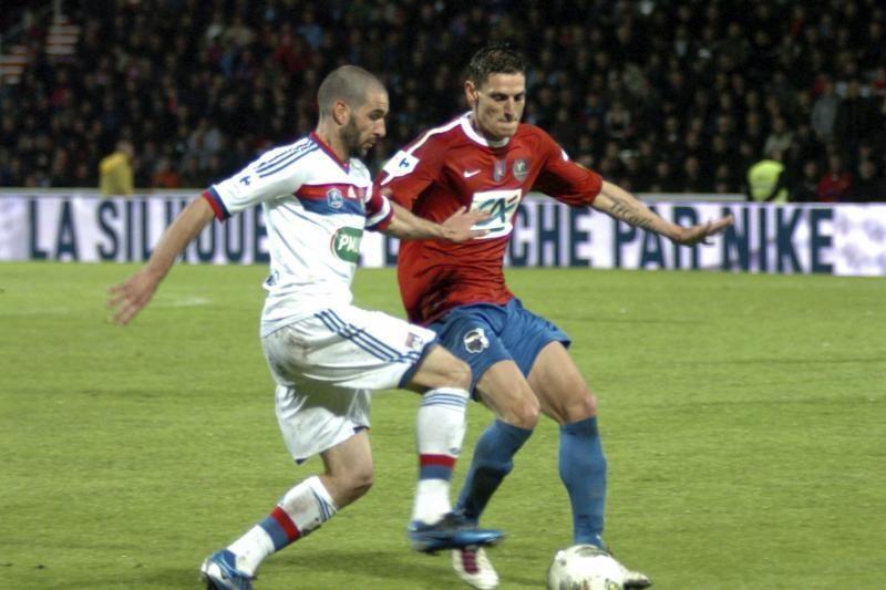 """""""Olympique"""" prasimušė į Prancūzijos taurės finalą"""