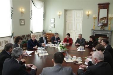 D.Grybauskaitė skubina Seimą apsispręsti dėl merų rinkimų