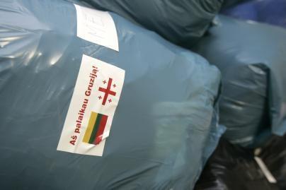 Lietuviai neužmiršo gruzinų paramos