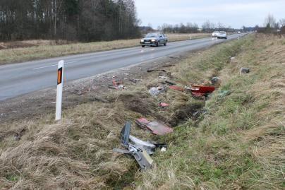 Autoavarijoje žuvo moteris