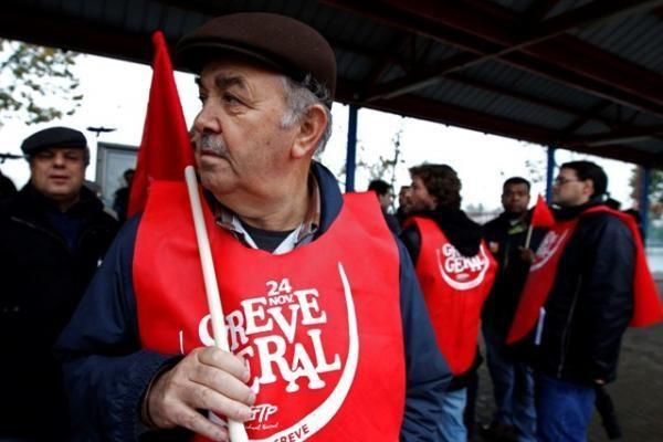 Visuotinis streikas paralyžiavo gyvenimą Portugalijoje