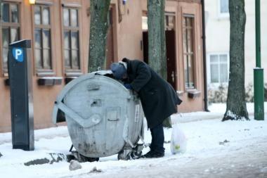 Klaipėdos benamių šaltis negąsdina