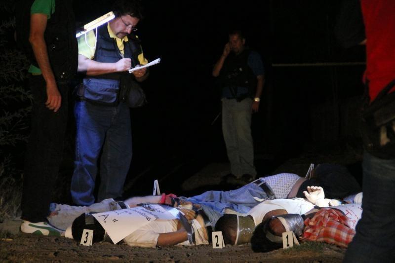 Meksikoje rasta 18 lavonų nukirstomis galvomis