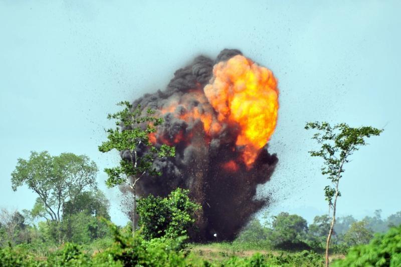 Kambodžoje Elizabeth II jubiliejaus proga sproginėjo minos