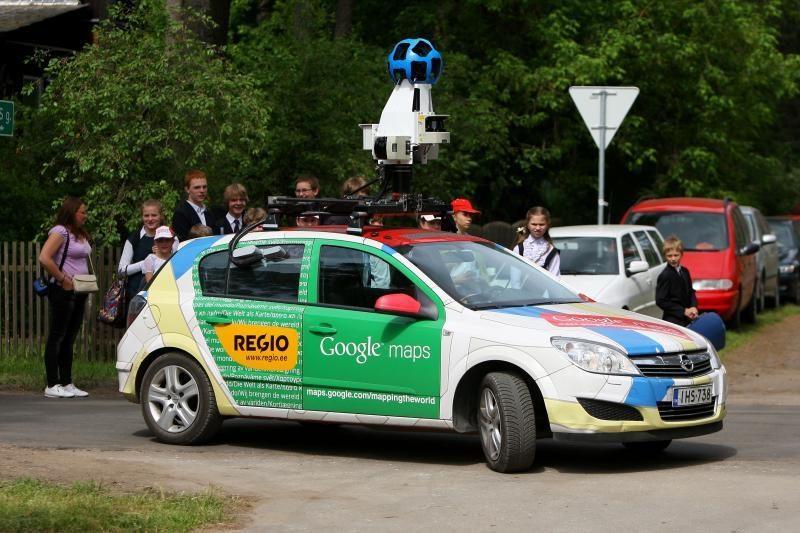 """""""Google"""" projektas """"Street View"""" – jau Lietuvoje"""