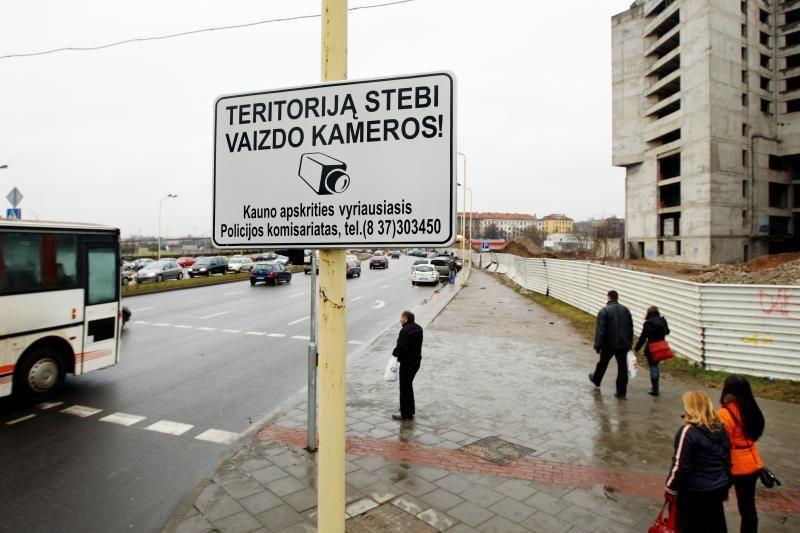 Dėl apsnūdusių valdininkų Kaunas gali likti be vaizdo kamerų