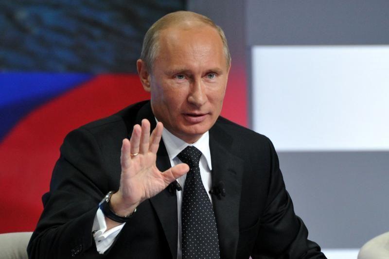 Politologas: V.Putino kandidatavimas į prezidentus - pagalba partijai
