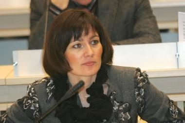 E.Gudišauskienė pretenduoja į administracijos direktoriaus postą (papildyta)
