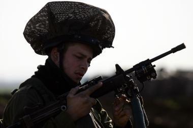 Izraelio patrulis buvo apšaudytas iš Jordanijos
