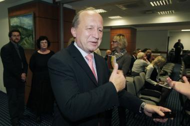 """A.Kubilius nenustebtų, jei """"Gazprom"""" apskųstų Lietuvą"""