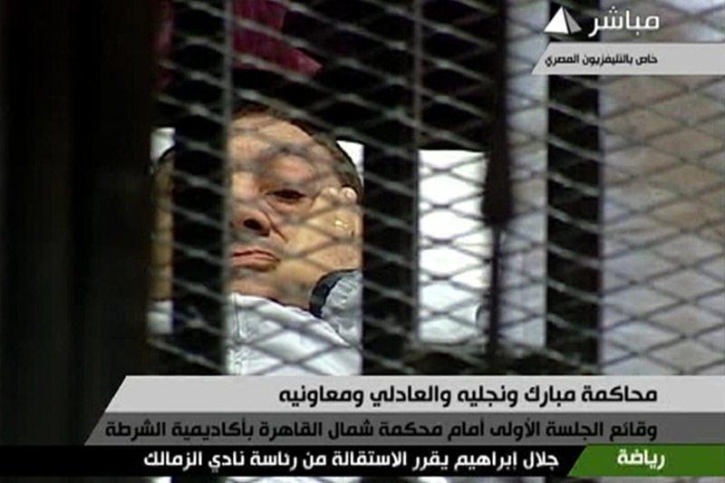 H.Mubarakas sako, kad kalėjime jį norima nužudyti