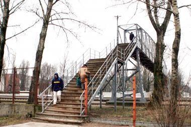 Dėl tilto statybos - papildomi kilometrai