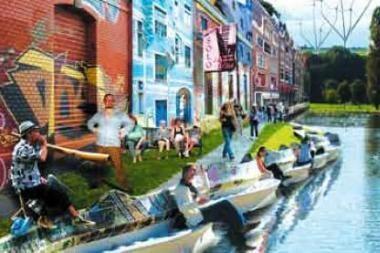 Miestiečiai prie Vilnelės nori aktyvių pramogų ir kavinių