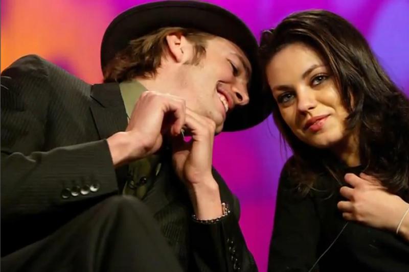 Ashtonas Kutcheris ir Mila Kunis romantiškai leido laiką drauge