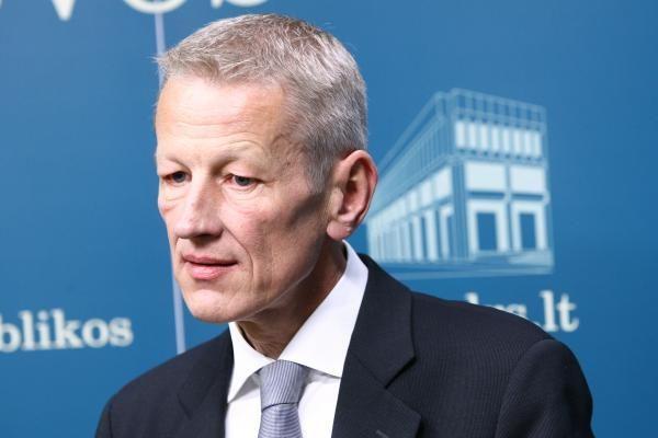 Aplinkos ministras G.Kazlauskas išleistas iš ligoninės
