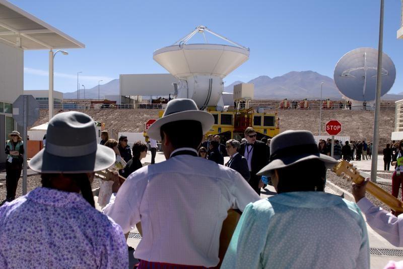 Čilėje ėmė veikti didžiausia pasauly astronomijos observatorija (foto)