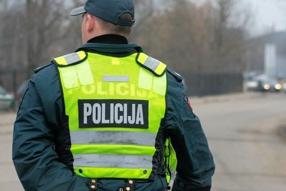 Vilniaus rajone įkliuvo mergina su dideliu kvaišalų kiekiu