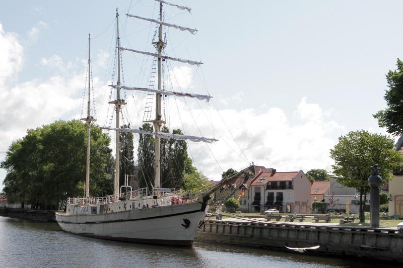 """""""Meridianas"""" bus nuskandintas Baltijos jūroje"""