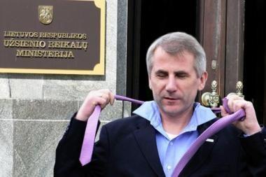 V.Ušackas pasirengęs atsistatydinti