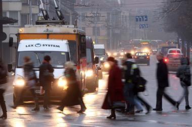 Vilniuje partrenktos dvi senutės