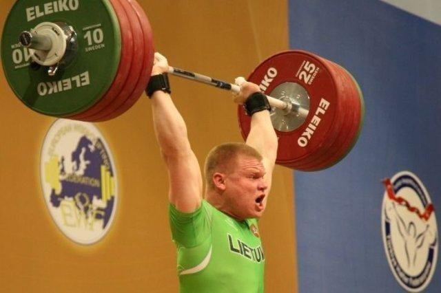 Europos sunkiosios atletikos čempionate - lietuvio bronza!