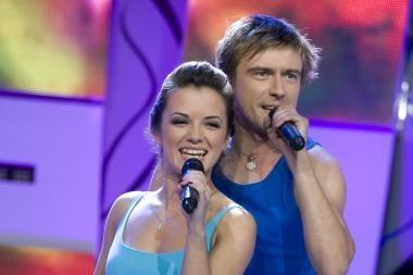 """""""Muzikuojančiame kelte"""" - M.Jampolskio ir Irūnos duetas"""