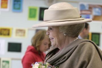 Į Lietuvą atvyko Nyderlandų karalienė