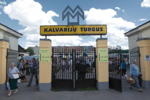 Nustatyta: Kalvarijų turgavietėje pažeidinėjamos prekybos taisyklės