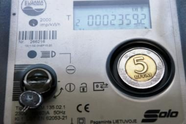 Elektros biržoje brangsta elektra