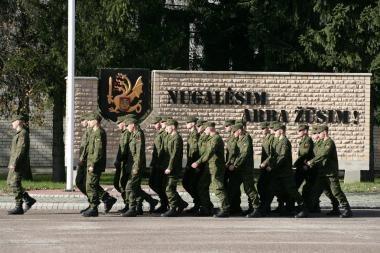 Susitiko misijai besiruošiančių karių artimieji