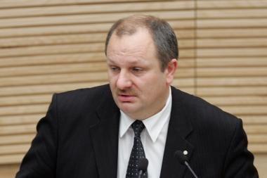Pas prezidentę apsilankę parlamentarai kritikavo Antikorupcijos komisijos vadovą