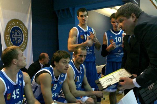 """R.Kuncaitis džiaugėsi """"Neptūno""""žaidėjų kovingumu"""