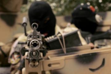 Bagdade per bombos sprogimą žuvo JAV karys