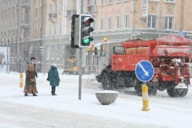 Žiemą kelininkus gelbsti patirtis ir naujausios technologijos
