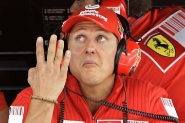 """M.Schumacheris atstovaus """"Mercedes"""" komandai"""