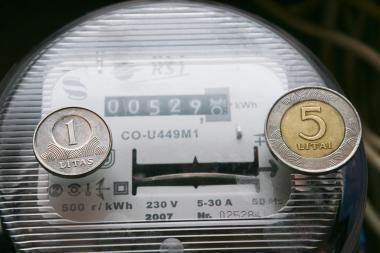 Už gruodžio mėnesį sunaudotą elektrą mokama pagal senus tarifus