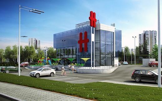 """""""Hesburger"""" Vilniuje planuoja naują restoraną"""