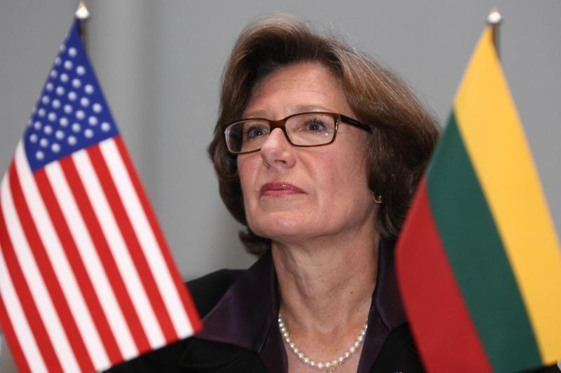 JAV ambasadorė A.E.Derse: Amerikos verslas vis labiau domisi Lietuva