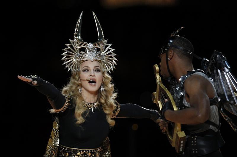 Madonna žiūrovus nustebino įspūdingu šou