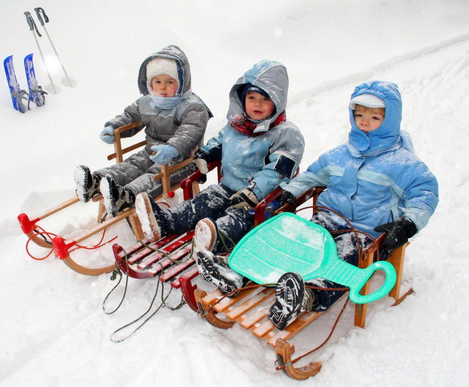 Pajudėjo ledai žiemos inventoriaus prekyboje