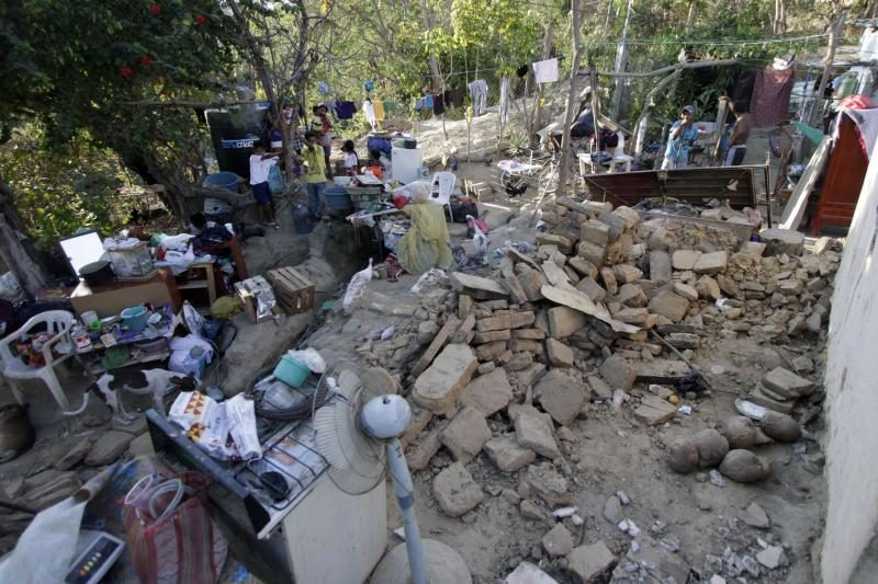 Meksikoje per galingą žemės drebėjimą sužeista 11 žmonių