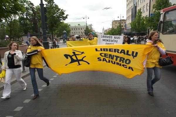 Liberalcentristai minėjo Laisvės nuo mokesčių dieną