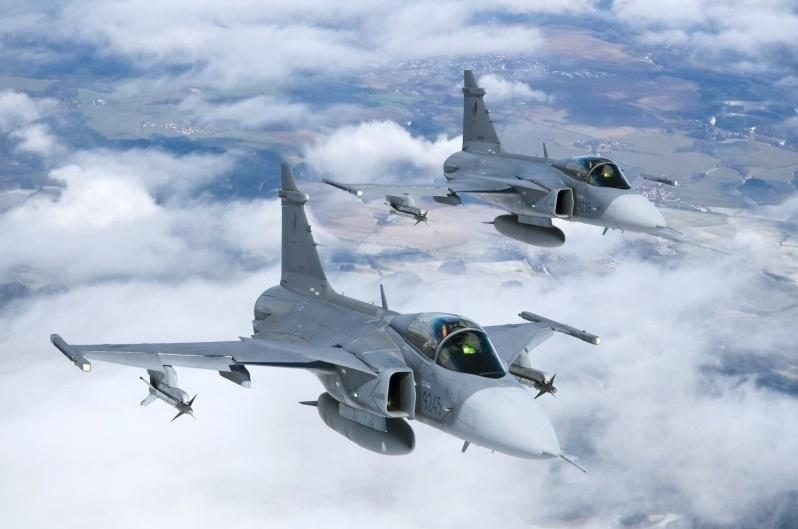 Baltijos šalių oro erdvę saugojusius lenkus keičia čekai